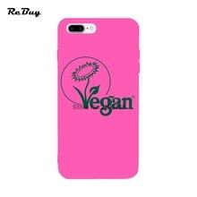 VEGAN plant phone cover / case for iPhone 7/7plus 6/6s/6plus/6s Plus 4.7/5.5