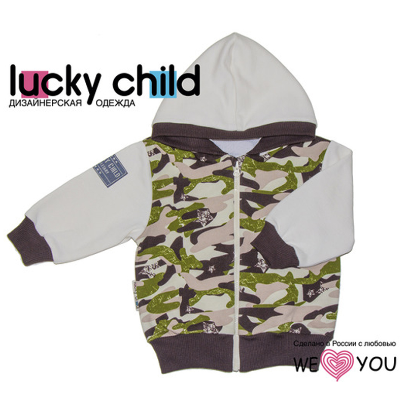 Hoodie Lucky Child 31-17pf military Kid clothes 82010 1193pcs century military tank building blocks compatible legoes gift kid military army diy bricks pzkpfw ii tank toy