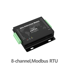 E830-DIO(485-8A) Digital Signal Acquisiton Modbus 8 Channel Serial Port Server Switch Quantity Collection modbus rs485 professional modbus gateway industrial level 2 port rs485 422 modbus rtu to modbus tcp