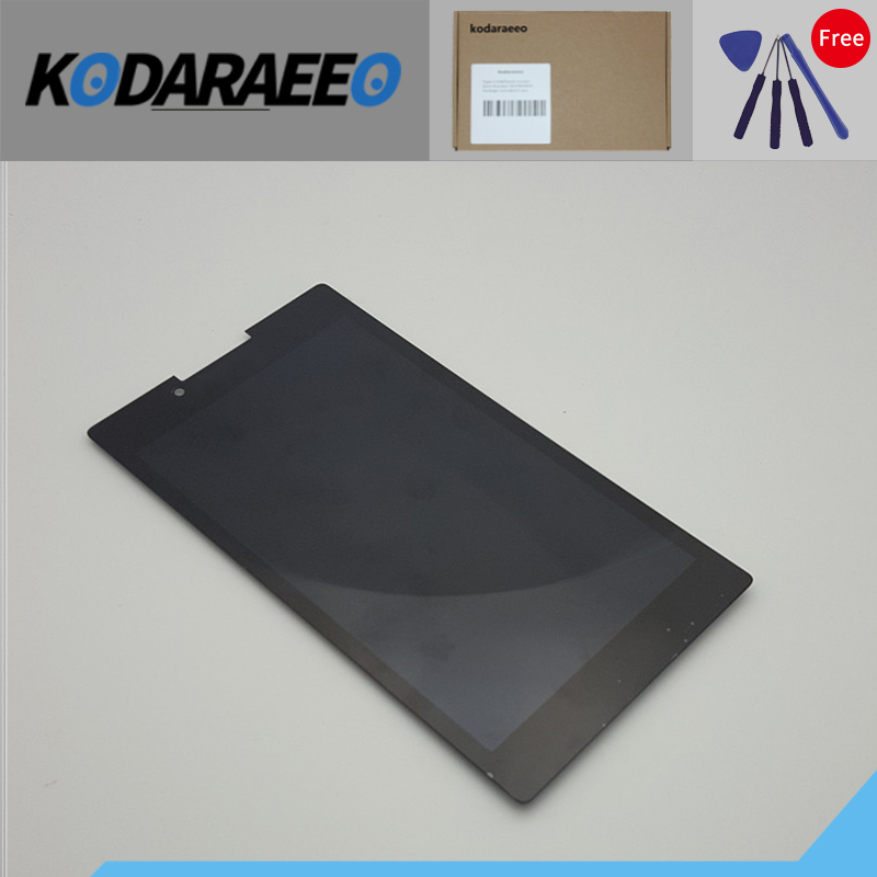 kodaraeeo 7 inch For New Lenovo Tab 2 A7-30 A7-30HC A7-30DC Replacement LCD Display Touch Screen Digitizer Glass Assembly kodaraeeo for lenovo tab a7 a7 50 a3500 lcd display with touch screen digitizer assembly parts free tools