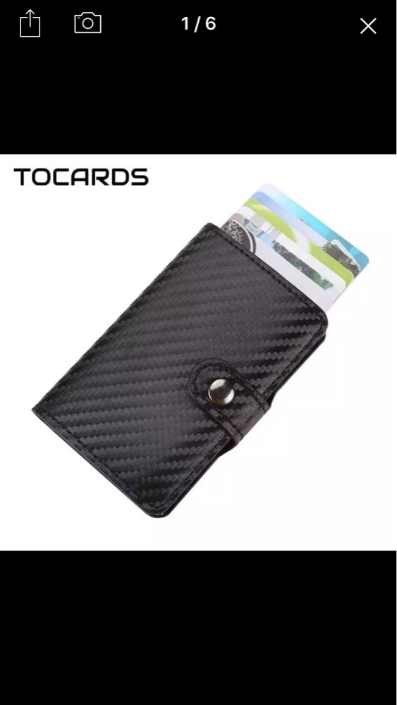 Fashion Creative Sliding Hand-push Pop Up Card Bag Business ID Credit Cards Holder Wallet Cards Pack Cash Business Card Case photo review