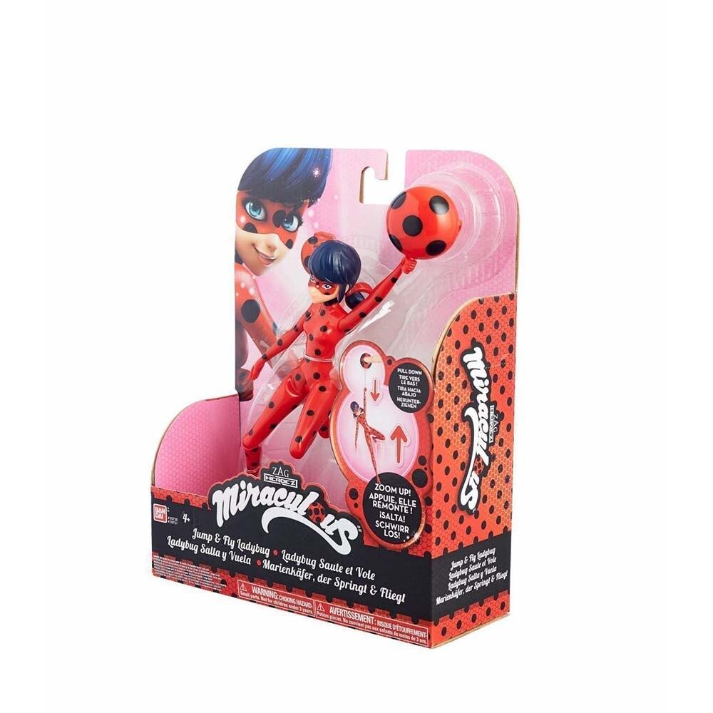 Poupée Bandai Dame Баг et Super Chat Dame Баг (Figure 19 cm) avec ventouse - 4