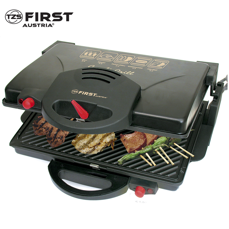 Grill press FIRST FA-5330 Black automatic dumpling gyoza press maker 7 6cm diameter sized