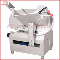 320A Electric Commercial Automatic Meat Slicer Cutter Machine With Blades