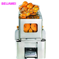 BEIJAMEI E 5 Wholesale price electric orange juicer machine can can commercial orange juicer machine