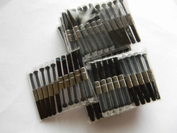 도매 100 개 만년필 잉크 컨버터 펌프 카트리지 펜 리필
