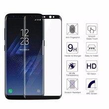 100 pcs Untuk Samsung Galaxy Note 8 S7 S8 S8 S9 Ditambah Tepi 3D Penutup Layar Kaca Tempered Film Untuk S9 Melengkung Penuh Ditambah Kaca
