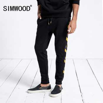 SIMWOOD Brand Sweatpants Men 2019 Winter New Jogger Pants Trousers Men Fashion Drawstring Casual Warm Hip Hop Streetwear 180542 - DISCOUNT ITEM  49% OFF All Category
