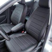 Для Volkswagen Polo Sedan 2009-2019 со спинкой 60/40 специальные чехлы для сидений полный комплект автопилот эко-кожа