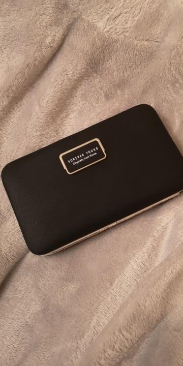 Baellerry Brand Women Wallet Purses Wallet Female Credit Card Holder Clutch Coin Purse Cellphone Pocket Women Money Bag Carteras photo review