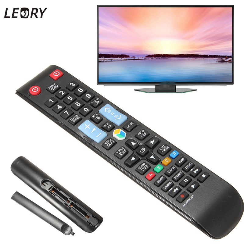 LEORY Replacement TV Remote Control For Samsung TV AA59-00797A AA59-00793A AA59-00790A 3D Smart TV LCD LED Remote Controller used remote control for samsung smart tv aa59 00761a fit aa59 00760a aa59 00766a aa59 00831a