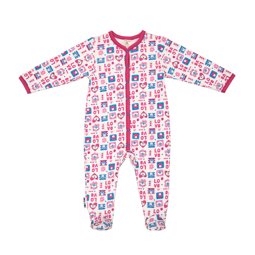 Jumpsuit Lucky Child for girls A6-103 Children's clothes kids Rompers for baby new baby sleeping bag soft cotton autumn child sleep suit u collar baby sleepsacks dogs clothes autumn winter