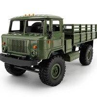 WPL B 24 GAZ 66 1:16 Remote Control Military Truck 4 Wheel Drive Off Road RC Truck Model Remote Control Climbing Car RTR B24