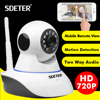 SDETER 720P Wireless CCTV Camera Security Camera Wifi Home Surveillance IR Night Vision Play And Play