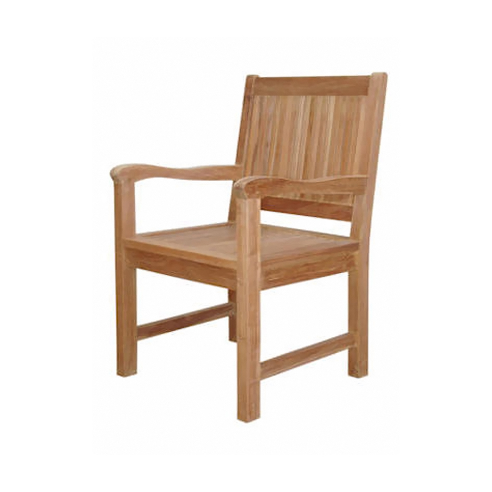 Andersonteak Outdoor Living Furniture Chester Dining Armchair