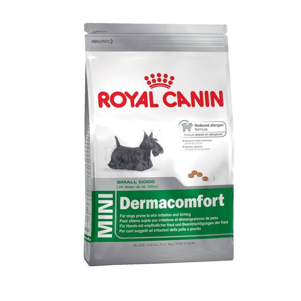 Dog Food Royal Canin Mini Dermacomfort, 4 kg
