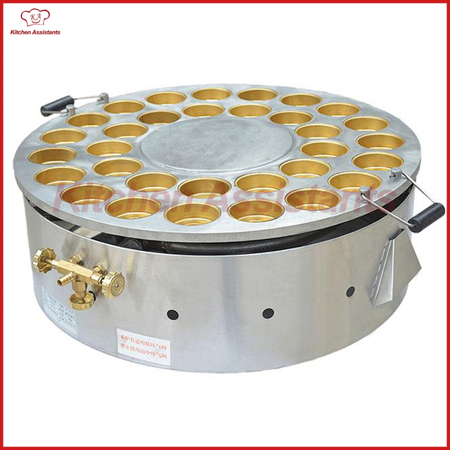 FY32HR Gas Egg Hamburger Pie/Red Bean Pie Cake Snack machinery-in Waffle Makers from Home