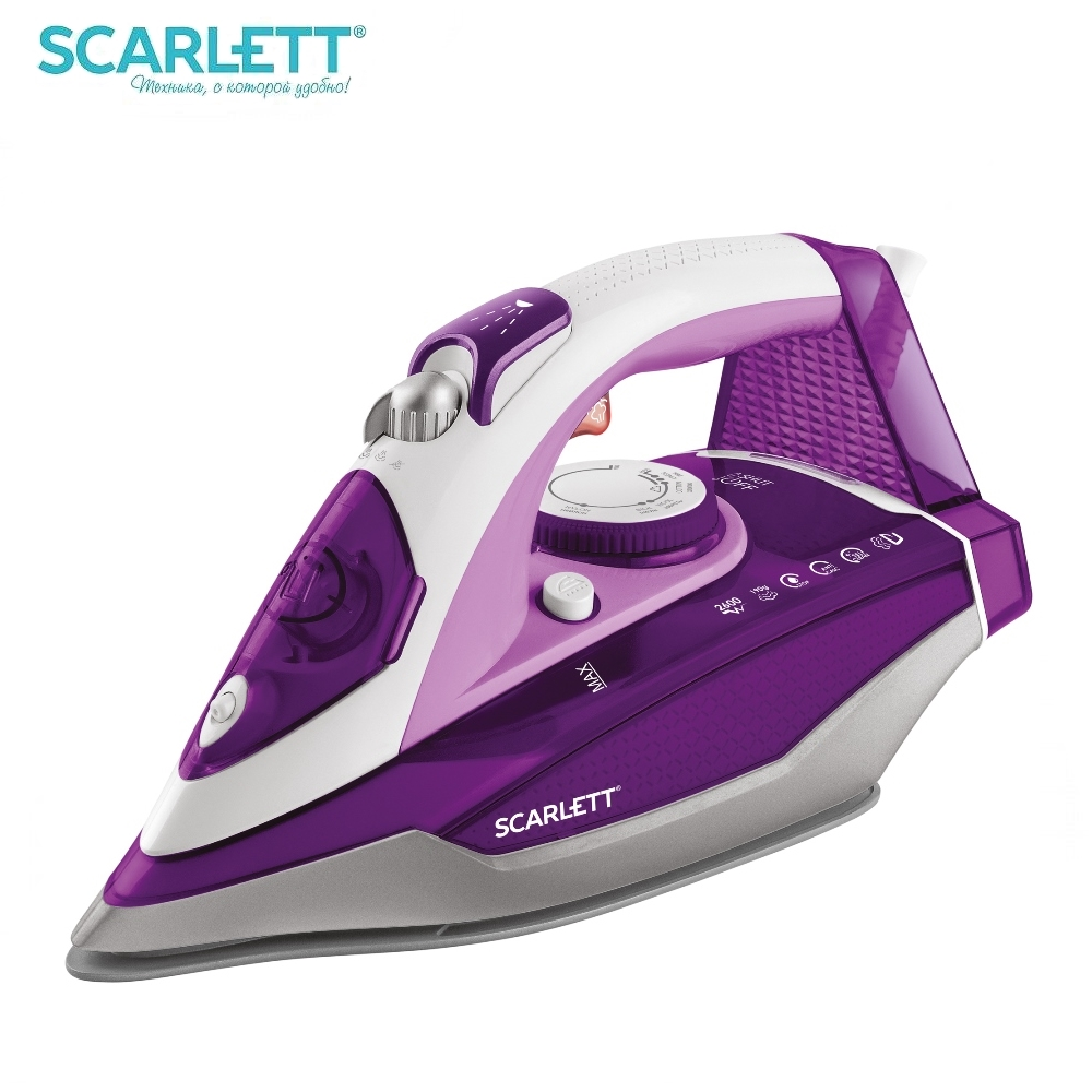Iron Scarlett SC-SI30K36 for ironing Mini iron steam iron Steam generator for clothing Irons Electric steamgenerator Small iron steam generator philips gc 7703 20 iron steam generator iron for ironing irons steam iron clothes steamgenerator electriciro