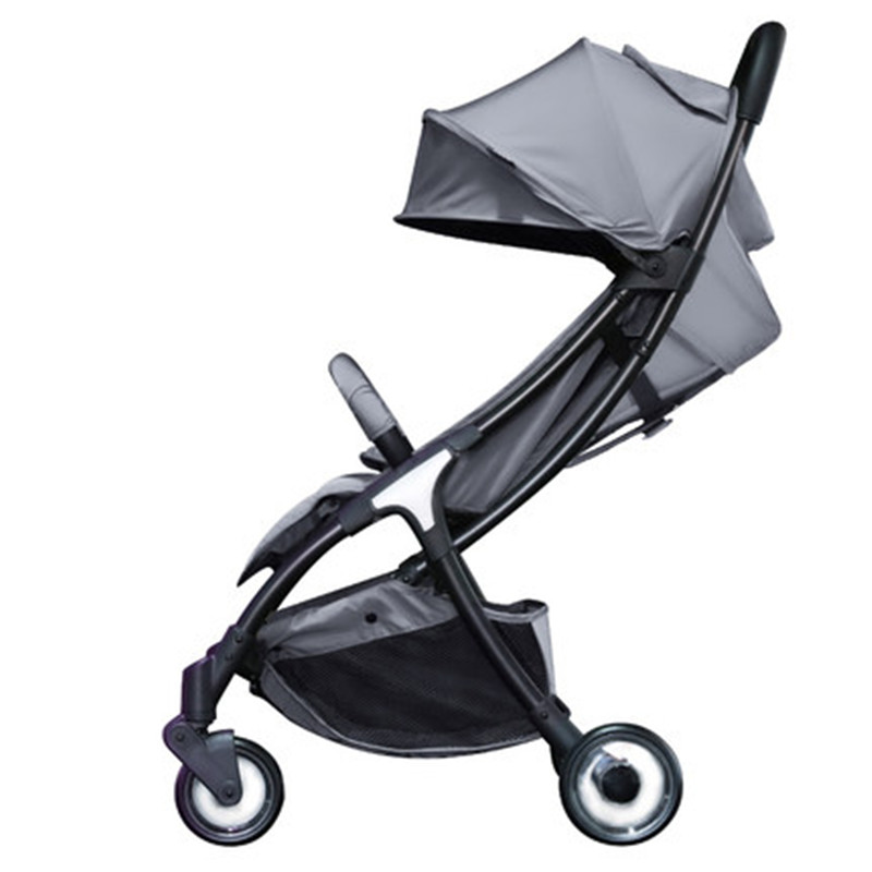 Easy baby stroller aluminum alloy frame can sit can lie folding lightweight baby carriage fast delivery lacywear s 34 sit