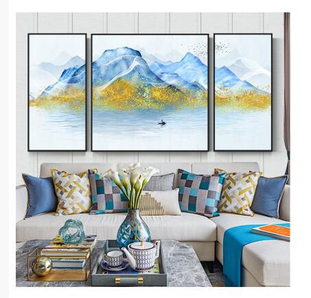print on demand dropshipping 3 part wall art home canvas