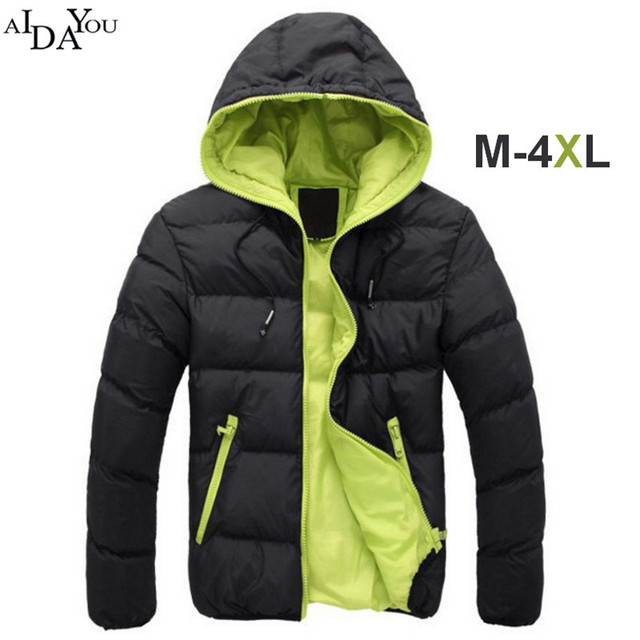 Aliexpress.com : Buy Winter Jacket men zipper fashion 2 colors ...