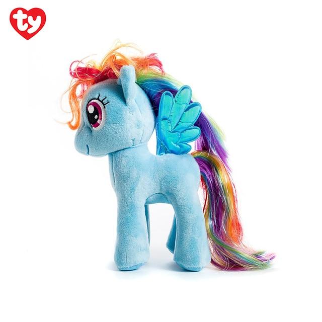 мягкая игрушка My Little Pony Ty рэйнбоу деш 20 см 41005 In фильмы