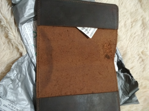 Echt lederen paspoort Cover ontworpen voor de Russische Federatie Crazy Horse lederen kaarthouder Business Travel paspoort zaak photo review