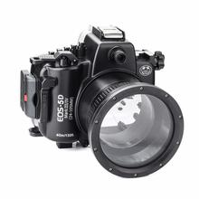SeaFrogs 5D4 5D IV 40M 130ft Diving Waterproof Housing Case for Canon III 5D3 Supports 24-105mm Lens DSLR Camera Bag