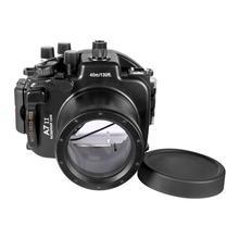 Meikon A7II A7R II Waterproof Housing Case 40M 130ft For Sony A7 II A7R II 28-70mm Camera Waterproof Housing Case for Sony