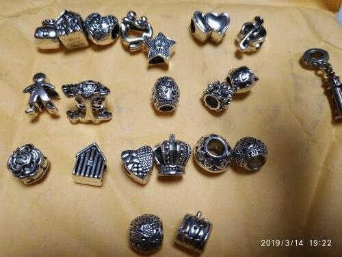 Пункт Форма:: Круглая Форма; браслет серебро; бусины для ювелирные изделия делает; ulefon;