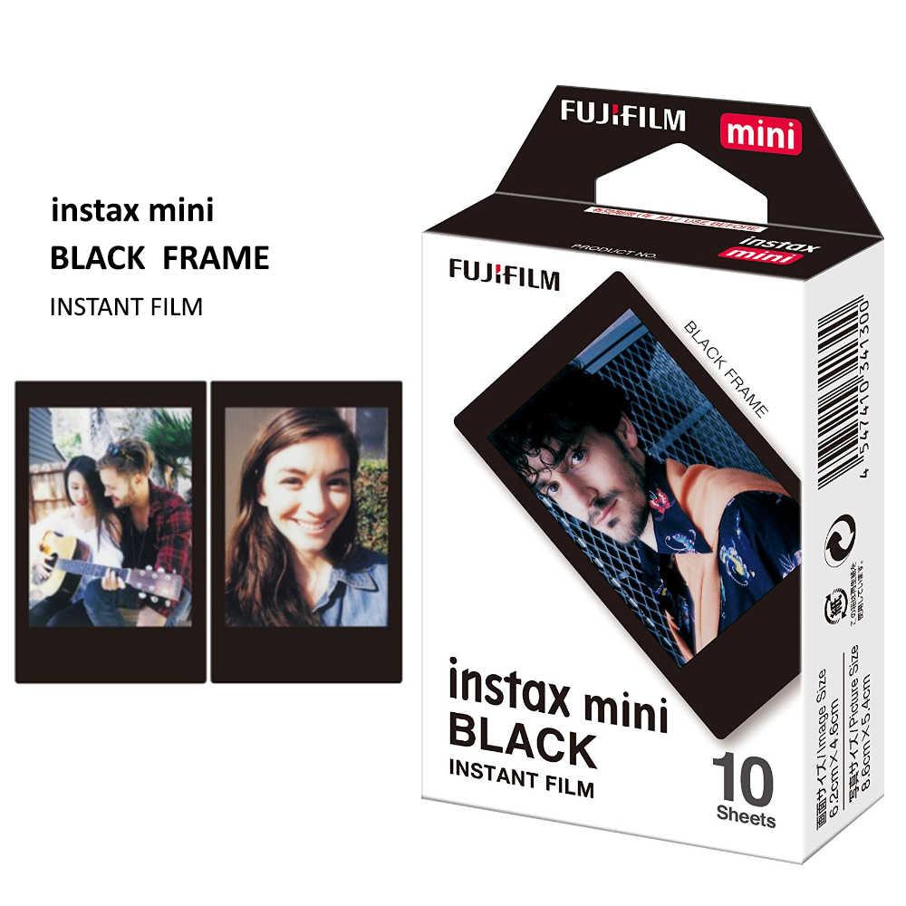 كاميرا تصوير فيلم Fujifilm Instax Mini 8 Mini 9-صورة فورية من فوجي 10 أوراق تعرض أوراق-نمط إطار فيلم اختياري