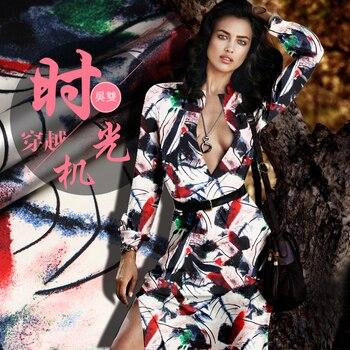 SP718 Pure Silk/Time Travel/Silk Fabric Mulberry Silk 93% Silk 7% Spandex Elastic/Width 1.29yd Thickness 19mm