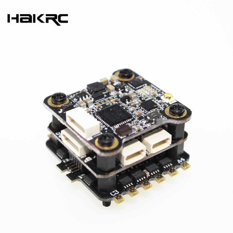 HAKRC Mini F4 Flytower F4 Contrôleur de Vol Construit Dans OSD 20A 4 DANS 1 ESC BLHeli_S 200 mw 48CH VTX Pour RC FPV Racing VS Holybro