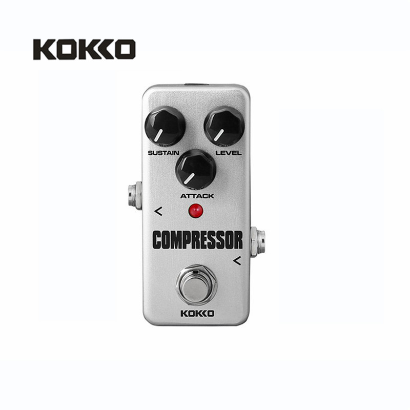 KOKKO FCP-2 Compressor Guitar Effect Pedal Mini Electric Bass Guitar Effects Ture Bypass