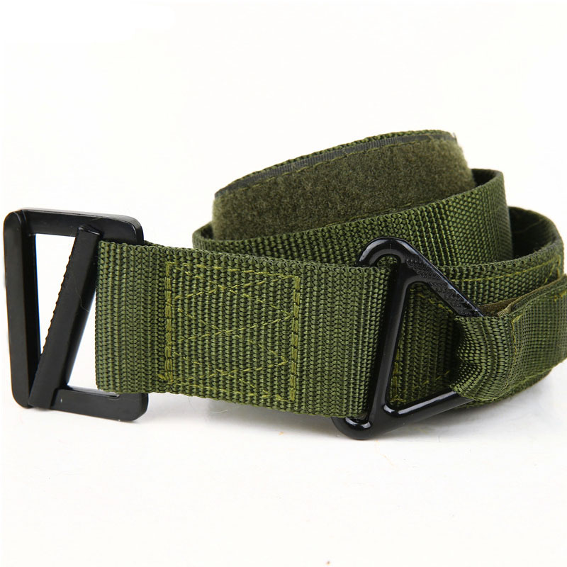 130cm Military Tactical Belts <font><b>MOLLE</b></font> <font><b>Tactico</b></font> Militar Waist Belts Hunting Army Combat Accessories CS Utility Waistband Adjustable image