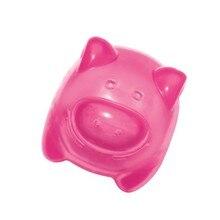KONG игрушка для собак Сквиз Джелс 8 см средняя в ассортименте (бобер, бегемот, свинка, лягушка)