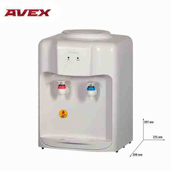 Water dispenser AVEX D-10W Desktop with electronic cooling