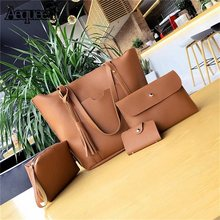 4pcs Women Casual Bag Set