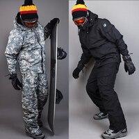 New Premium Edition Southplay Зимний водостойкий 10000 мм утепленный военный костюм (куртка + брюки) комплекты