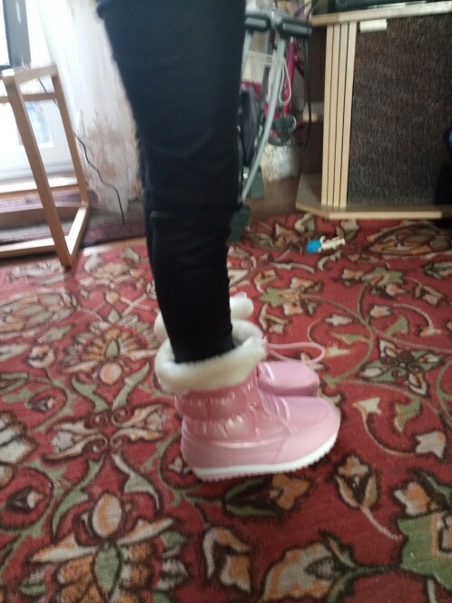 Карамельный цвет Девичьи зимние сапоги Водонепроницаемый зима Детские ботинки плюшевая подкладка теплая обувь для девочек Skidproof