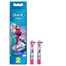 Сменные насадки для зубной щетки Oral-B Kids Frozen, 2 шт.