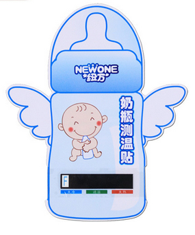 Baby Feeding Infant Bottle Temperature Measuring Stickers
