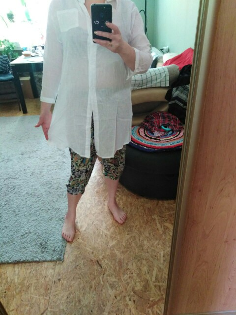 Cotton Casual White Long Blouse Women Autumn Women Long Sleeve White Shirts Blouse High Quality Loose Blouse Tops photo review