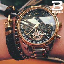 2017 Luxury Mechanical Watch Tourbillon Designer Wa