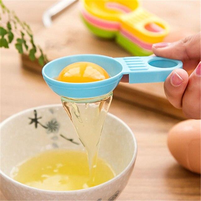 1021 creative short handle egg white separator egg processing  distributor Kitchen Baking tool