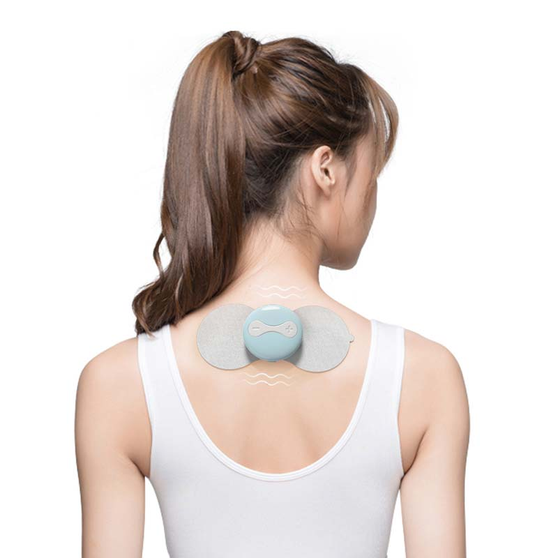 c4309845187ba Wireless Body Smart Massager Muscle Relax Massage Electronic Pulse  Stimulator Shoulder Massage Back Arms Legs CCP061