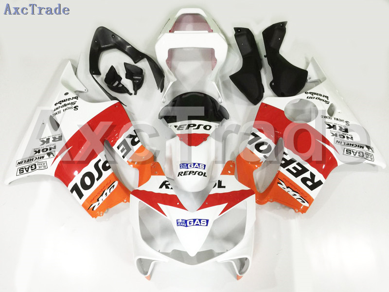Motorcycle Fairings For Honda CBR600RR CBR600 CBR 600 F4i 2001-2003 01 02 03 ABS Plastic Injection Fairing Bodywork Kit REPSOL 9 gray moto fairing kit for honda cbr600rr cbr600 cbr 600 f4i 2001 2003 01 02 03 fairings custom made motorcycle injection molding