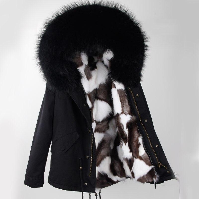 Новинка 2018 года; Модные женские зимние пальто теплая куртка Высокое качество Женская парка куртка Пальто Капюшон натуральный мех енота нат