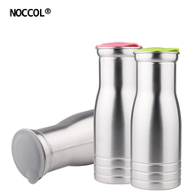NOCCOL 1000ML Stainless Steel Water Bottle Travel Outdoors E
