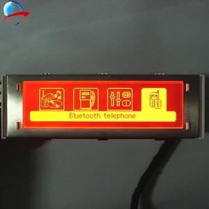 Image 3 - 12 Pin auto 4 menü Display Red screen unterstützung USB und Bluetooth monitor für Peugeot 307 407 408 citroen C4 c5 Keine Klima Control
